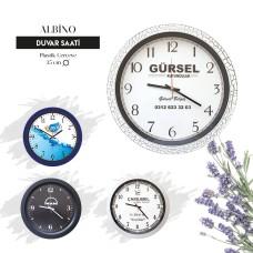 ALBİNO - Plastik Duvar Saati