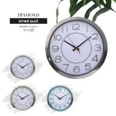 DİAMOND - Plastik Duvar Saati