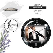 MARİNA - Plastik Duvar Saati